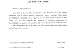 13 Certificat Schrack_NMT EN