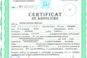 Certificat Inginer sisteme de securitate_Cristian Grama