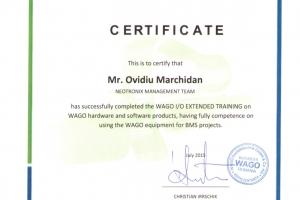 Certificat Wago Winsta_Ovidiu Marchidan_BMS_Iulie2015