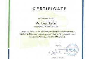 Certificat Wago Winsta_Stefan Ionut_Iulie_BMS2015