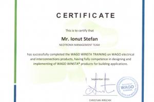 Certificat Wago Winsta_Stefan Ionut_Septembrie2015
